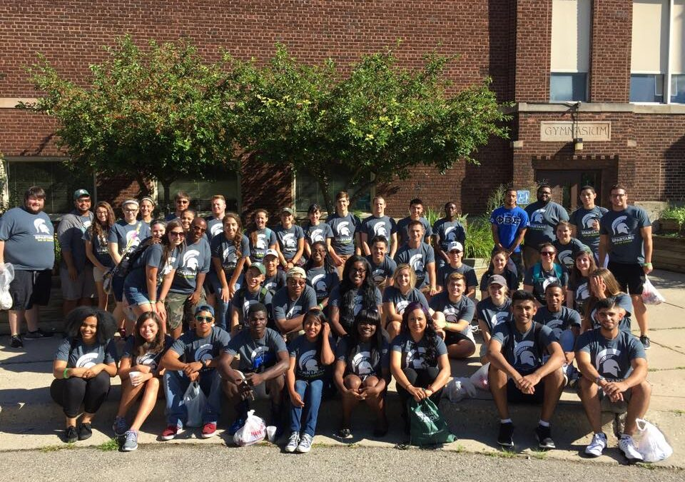 MSU Spartan Day of Service