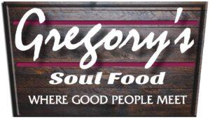 Gregory's Soul Food Sponsor Logo