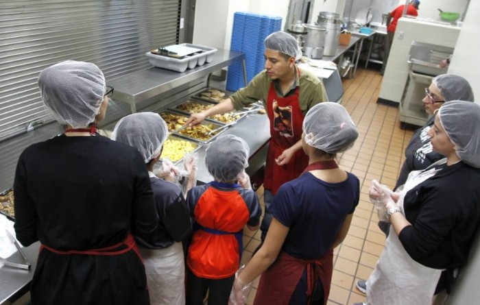 Community Kitchen Manager featured in LCC's Lookout newspaper