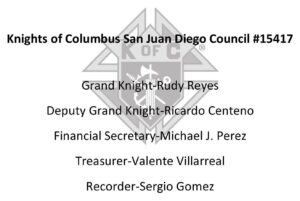 Corporate Sponsors - Golf Fore Giving - Knights of Columbus