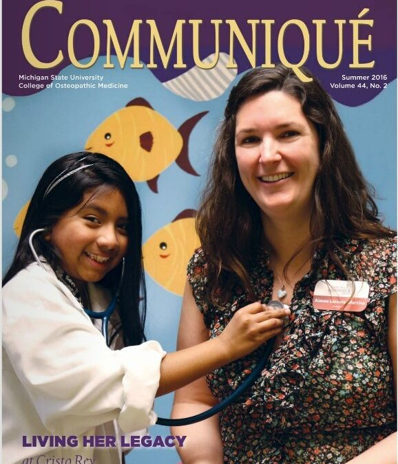 Cover Story for Dr. Aimee