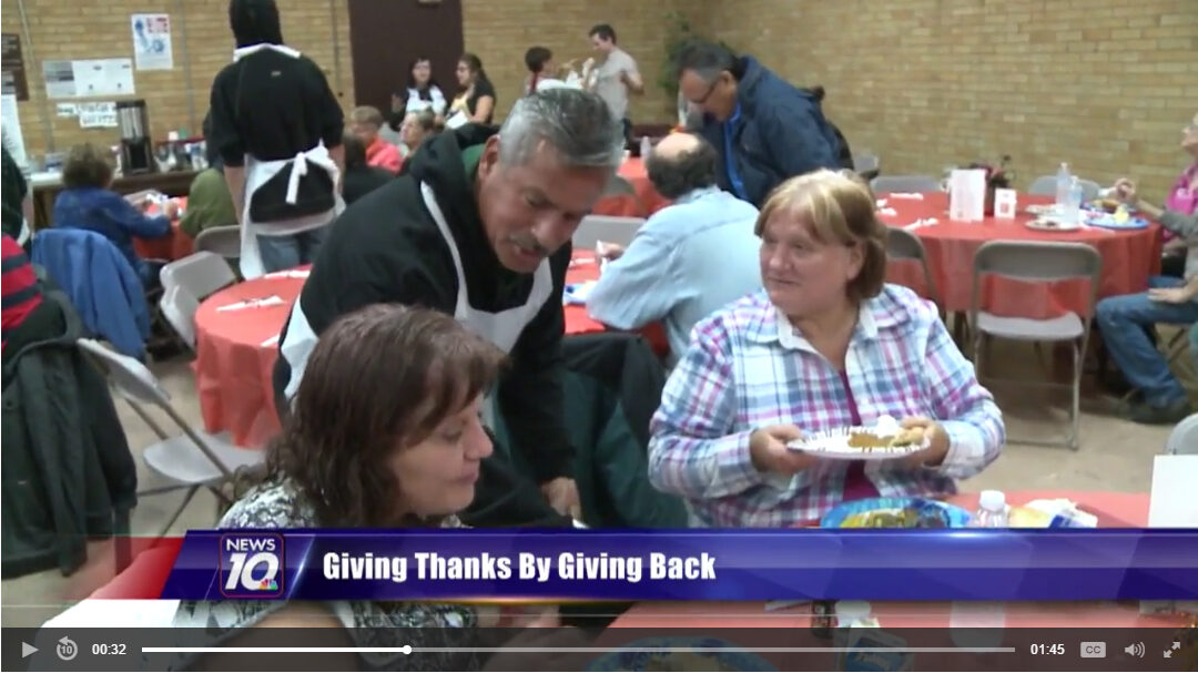 Giving Thanks by Giving Back