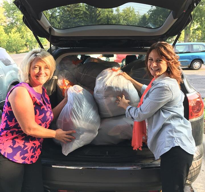 """Auto-Owners Insurance gifted Cristo Rey their """"Month of Caring Drive"""""""