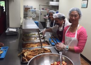 Serving some of the 22,000 meals projected in 2015!