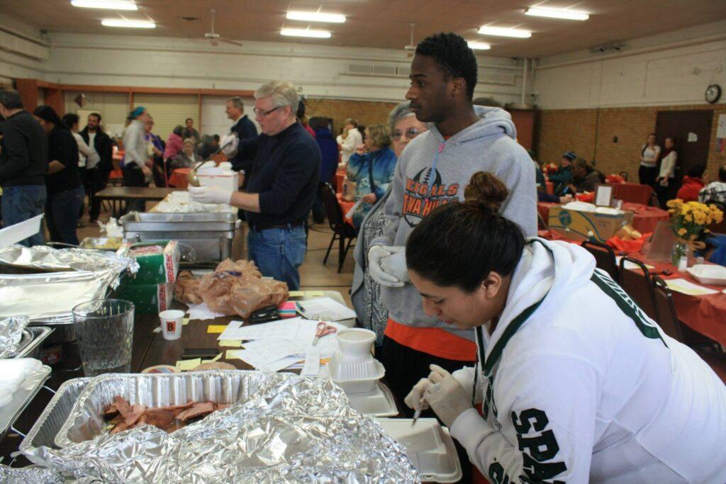 Annual Thanksgiving Feast!