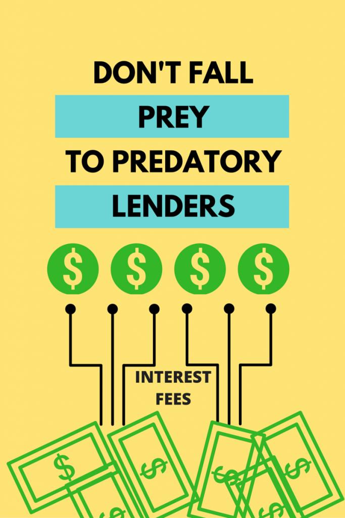 predatory lenders