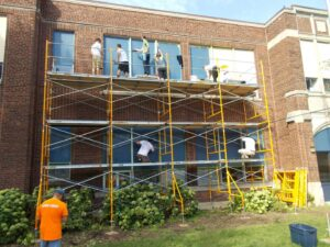 Rock the Block - Cristo Rey facelift