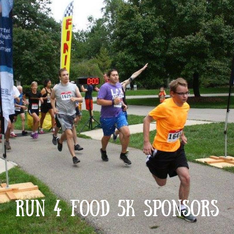 RUn 4 Food 5k Sponsors